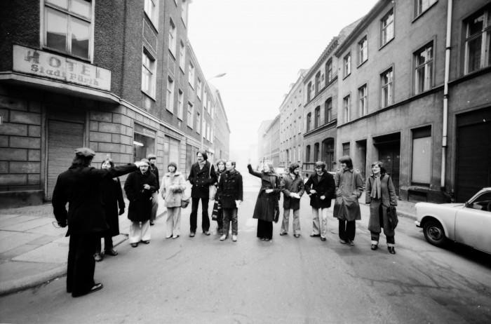 TU-Seminar: Barrikade Marienstr (1976)